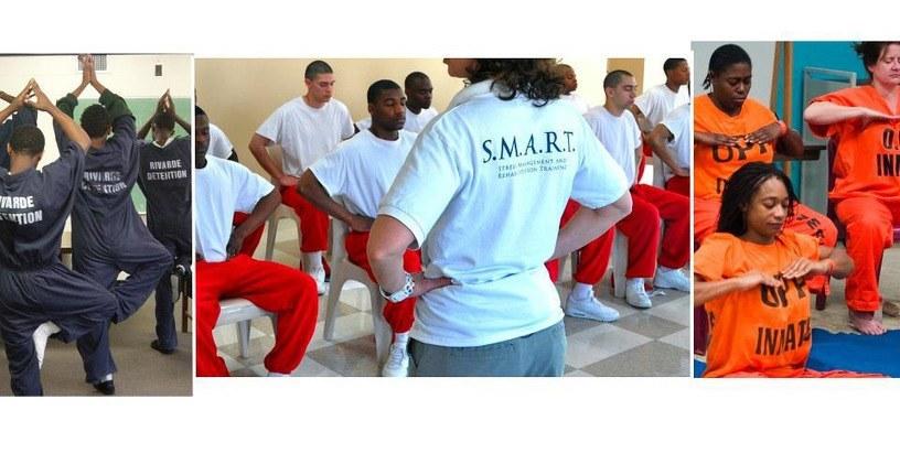 Yoga en prison pour gérer le stress