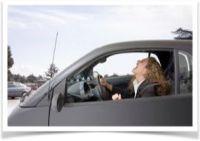 Symptômes de la peur en voiture