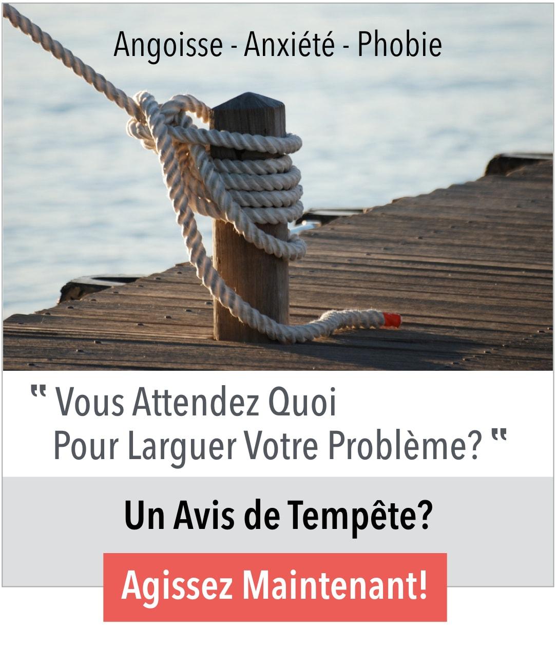 Angoisse - Anxiété - Phobie - Méthodes comportementales